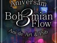 """Comunicat de presă: """"Bohemian Flow împlineşte 3 ani şi îşi continuă drumul"""""""
