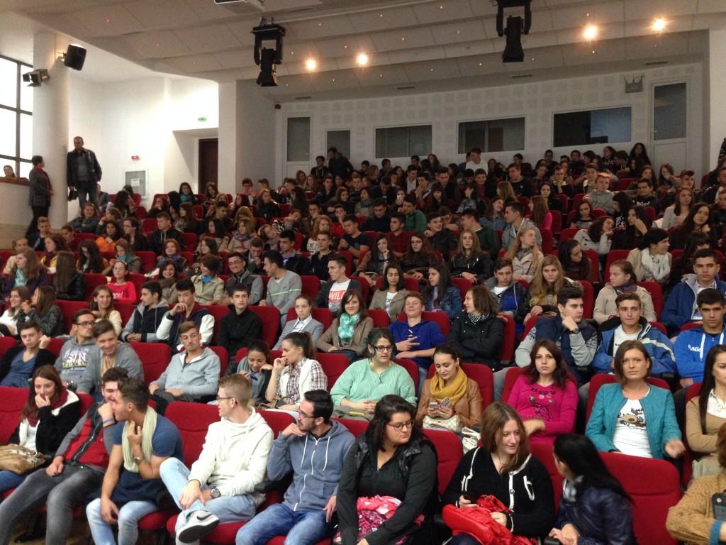 În două zile, ULBS a primit vizita a 330 de elevi