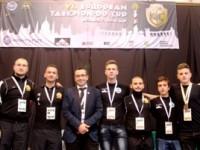 Medalie de bronz pentru PUMA Club la Cupa Europei la Taekwon-do, Budapesta 2014