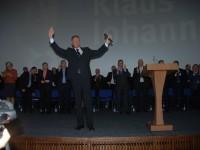 Iohannis și-a început campania electorală în capitala Olteniei