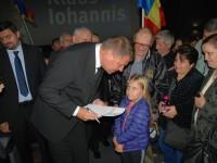 """Iohannis, la lansarea autobiografiei: """"Eu voi câștiga prezidențialele!"""""""