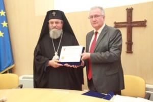 ÎPS Laurențiu, cetățean de onoare al județului Sibiu