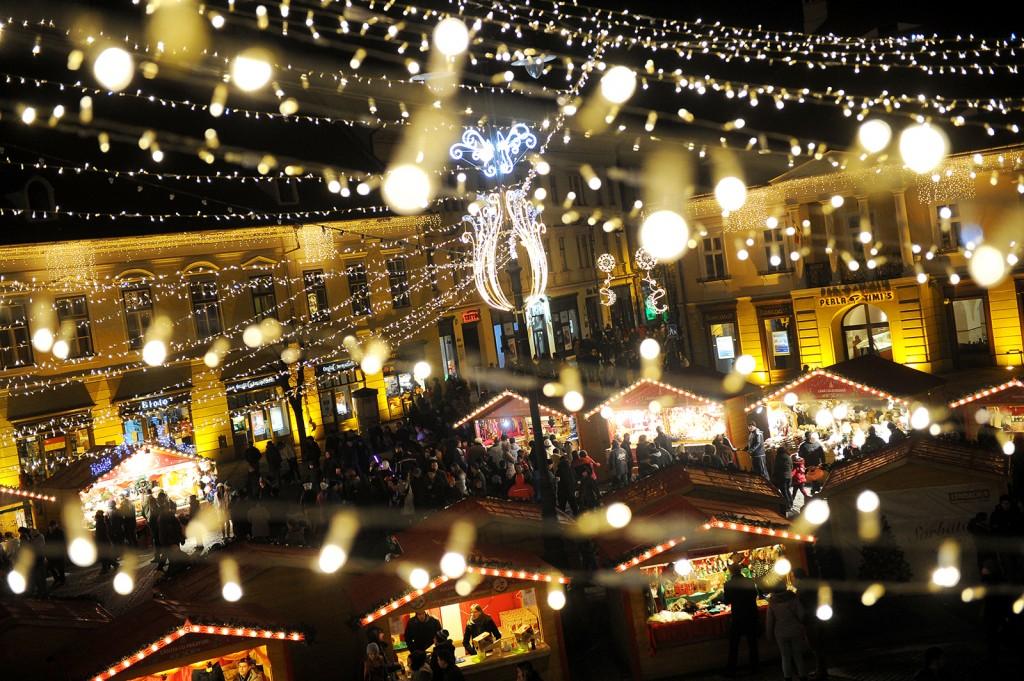 Târgul de Crăciun din Sibiu a ajuns la ediția a opta | foto: Silvana Armat