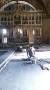 muncitori biserica