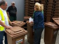 S-a încheiat furnizarea recipientelor pentru deșeuri