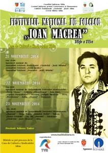 """Regal folcloric la Festivalul Naţional """"Ioan Macrea"""" 2014"""