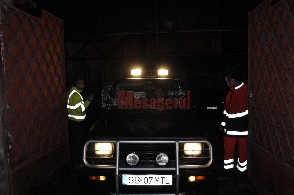 Trupurile neînsuflețite au fost transportate la morga Spitalului Județean Sibiu
