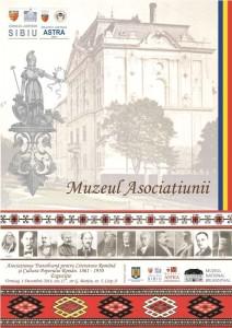 Inaugurarea Muzeului Asociațiunii cu vernisajul expoziției Asociațiunea Transilvană pentru Literatura Română și Cultura Poporului Român. 1861-1950