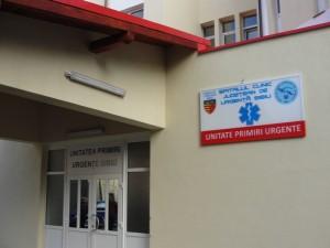 Investiție în sănătate -Peste 400.000 de lei au costat lucrările de la Unitatea de Primiri Urgenţe a Spitalului Județean Sibiu