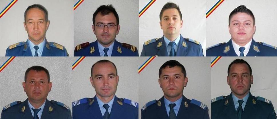 Cei opt militari care și-au pierdut viața în tragedia din județul Sibiu