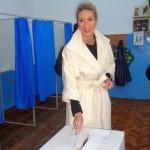 Raluca Turcan a votat la secția nr. 42