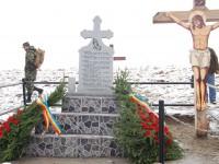 Troiţă ridicată în memoria celor opt militari decedaţi în accidentul aviatic de la Stejăriş