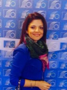 Diana Popa la Bruxelles