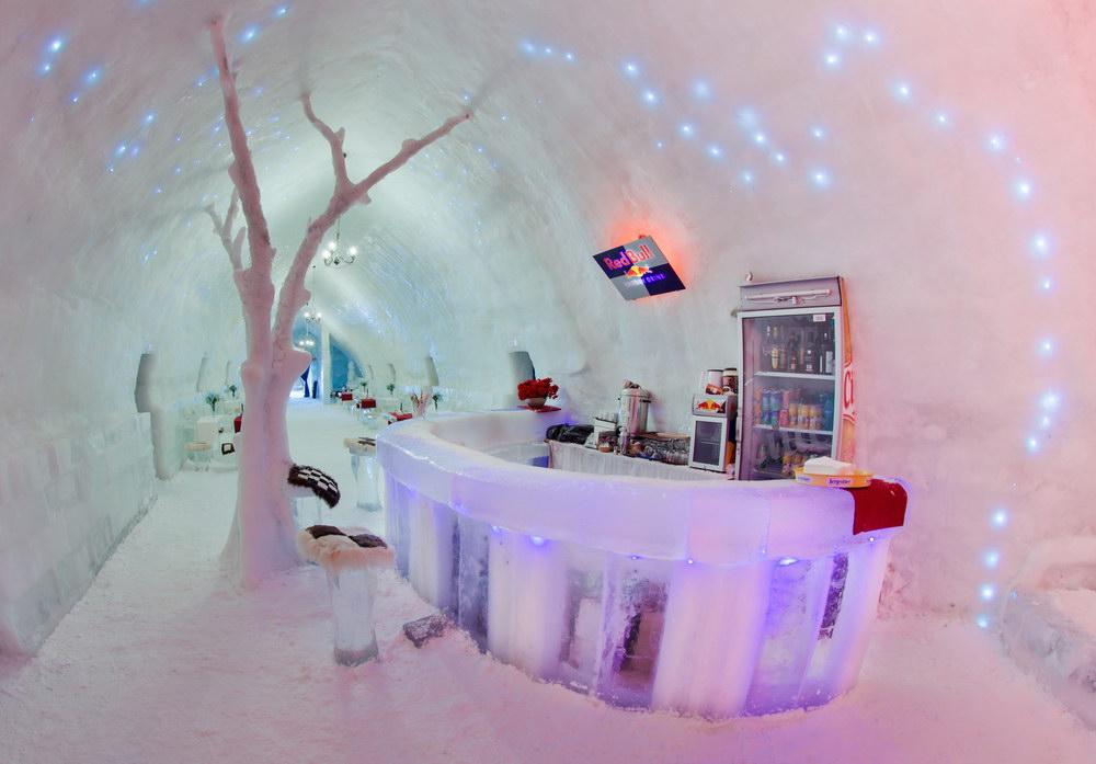 Hotelul de Gheață este singurul de acest fel din România | (c) Igor Marinovic