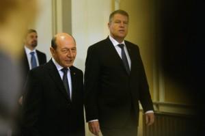 Iohannis și Băsescu s-ar putea întâlni, în această după-amiază, la Cotroceni   foto: psnews.ro