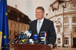 Iohannis a susținut o ultimă conferință de presă în calitate de primar al Sibiului