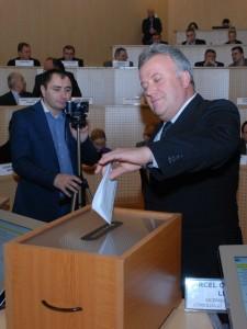 """""""Mat"""" la Banciu-Consilierii judeţeni şi-au ales un nou vicepreședinte"""