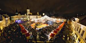 Ediția a opta a Târgului de Crăciun din Sibiu s-a încheiat