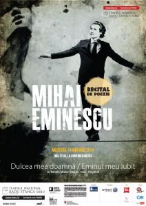 Actorii Teatrului Național Radu Stanca Sibiu recită poezii de Eminescu