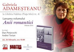 Gabriela Adameşteanu la Librăria Habitus din Sibiu