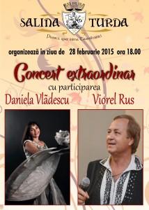 Concert de operetă, pe scena Salinei Turda