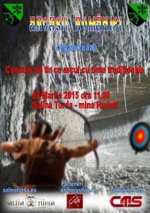 Concurs de tir cu arcul cu tinte traditionale in Salina Turda