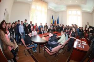 Copiii fac școală altfel la Consiliul Județean Sibiu