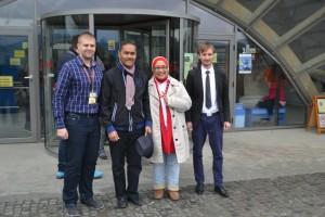 Salina Turda a fost vizitata sambata si duminica de delegatii ale ambasadei Norvegiei si Indoneziei