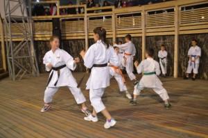 Demonstratie Karate Scoala altfel