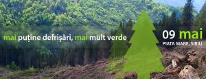 Marș pentru protejarea pădurilor – SIBIU 9 mai 2015