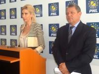 Copreședinții PNL Sibiu, deputații Raluca Turcan și Mircea Cazan