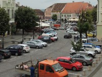 Parcările din Piața Huet, Piața Mică și Piața Teatrului se închid temporar