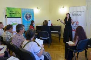 Duel între vioară și percuție, la Festivalul de Muzică Contemporană ICon Arts