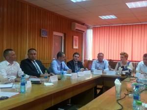 Ministrul a felicitat APM Sibiu