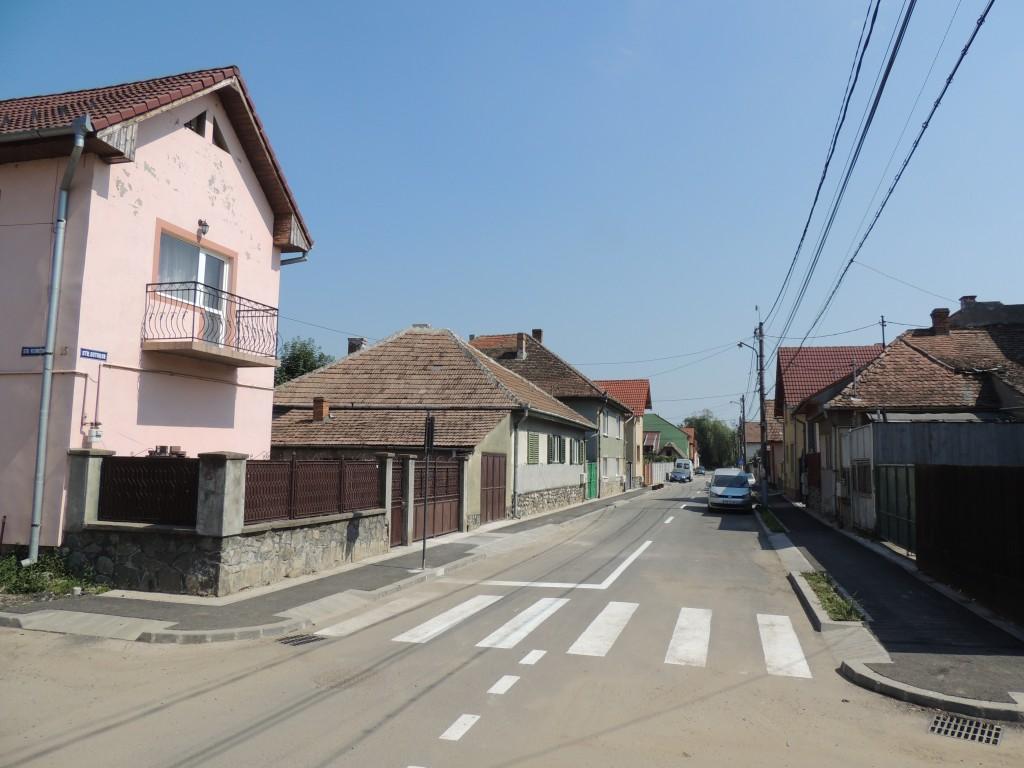 Strada Gutuilor a fost redată traficului