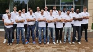 CSU Atlassib Sibiu și selecționata piloților de la Sibiu Rally Challenge, împreună pe terenul de baschet