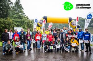 O adevărată aventură la Duathlon Challenge 2015. Peste 100 de concurenţi au sfidat ploaia şi au finalizat cu succes competiţia