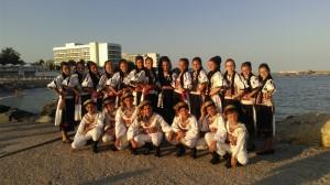 """Tinerii dansatori avrigeni au participat pentru prima dată la festivalul """"Dobroge, Mândră Grădină"""""""