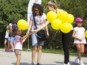 Zi de sărbătoare la Sibiu Open Peste 300 de copii la Kids Day