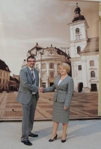 Vizita la Primăria Sibiu
