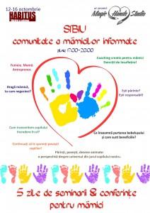Sibiu, comunitate a mamicilor informate