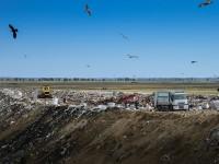 La groapa de gunoi de la Cristian au ajuns și deșeuri din județele Alba, Hunedoara, Vâlcea și Brașov