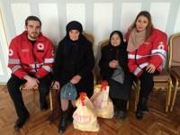 Ajutoare de la Crucea Roșie