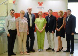 Medici de la Spitalul Universitar din Viena vor opera la Polisano