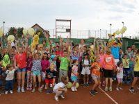 Carmen Iohannis și Adrian Ungur au jucat tenis cu 300 de copii la Sibiu Open Kids Day | FOTO