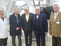Medici reputaţi în vizită la SCJU Sibiu