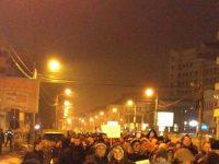 Protest de amploare împotriva grațierii! Aproape 10 mii de sibieni au ieșit în stradă   ȘTIRE ACTUALIZATĂ