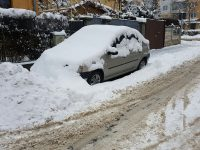 Șoferii sibieni, exasperați de deszăpezire. Iarna ne surprinde din nou! | FOTO