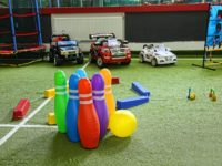 Sibienii care protestează își pot lăsa gratuit copiii într-un loc de joacă privat