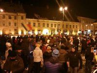 REVOLUȚIE la Sibiu, după ce Guvernul a adoptat ordonanțele în domeniul Justiției